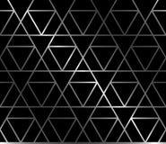 Fundo sem emenda forjado com triângulos Imagem de Stock Royalty Free
