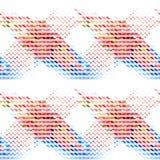 Fundo sem emenda geométrico abstrato colorido Foto de Stock Royalty Free