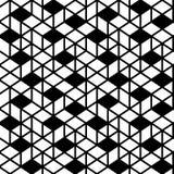 Fundo sem emenda geométrico do teste padrão Fotos de Stock