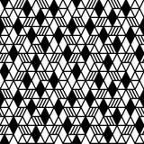 Fundo sem emenda geométrico do teste padrão Fotos de Stock Royalty Free