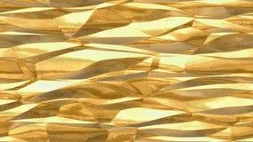 Fundo sem emenda metálico da textura do teste padrão do ouro - superfície do luxo ilustração stock