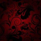 Fundo sem emenda preto e vermelho Foto de Stock Royalty Free