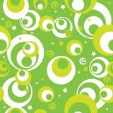 Fundo sem emenda verde Imagens de Stock Royalty Free