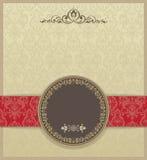 Fundo sem emenda vitoriano floral ilustração do vetor