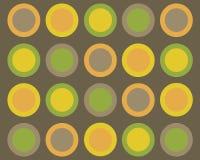 Fundo simétrico dos círculos Fotos de Stock