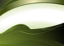 Fundo simples verde Imagens de Stock