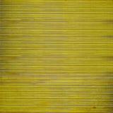 Fundo slatted de madeira amarelo de Grunge fotografia de stock