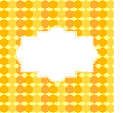 Fundo sob a forma de um favo de mel com espaço para o texto Imagem de Stock
