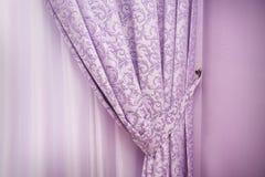 Fundo sob a forma do pano luxuoso ou ondulado abstrato Fotografia de Stock