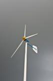 Fundo sozinho do windpower do carrinho Fotografia de Stock