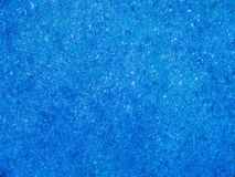 Fundo sparkling azul Foto de Stock Royalty Free