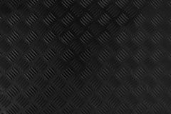 Fundo stanless do metal cinzento escuro preto do assoalho do sumário da placa do verificador inoxidável foto de stock royalty free