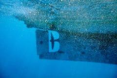 Fundo subaquático abstrato do mar Foto de Stock Royalty Free