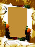 Fundo: Suco do Sepia Imagens de Stock Royalty Free