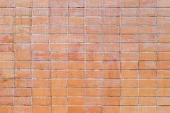 Fundo sujo da textura da parede de tijolo vermelho Fotos de Stock