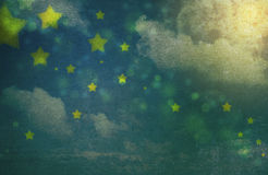 Fundo sujo do céu nocturno ilustração do vetor