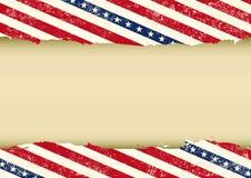 Fundo sujo horizontal dos EUA Foto de Stock Royalty Free