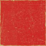 Fundo sujo vermelho do Scrapbook do papel de arte fotografia de stock royalty free