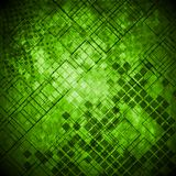 Fundo técnico do grunge verde abstrato ilustração do vetor
