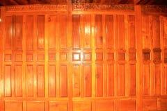 Fundo tailandês da parede da casa Fotos de Stock Royalty Free
