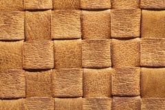 fundo tecido couro Imagem de Stock