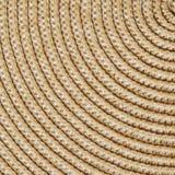 Fundo tecido palha Colheita quadrada Fotografia de Stock Royalty Free
