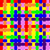 Fundo tecido sem emenda do arco-íris Foto de Stock Royalty Free