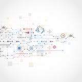 Fundo tecnológico abstrato Fotos de Stock