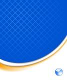 Fundo tecnológico azul abstrato ilustração stock