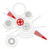 Fundo tecnologico ilustração stock