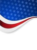 Fundo temático da bandeira dos Estados Unidos Imagem de Stock