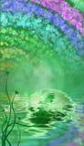 Fundo temático do dia do St. Patrick Imagens de Stock