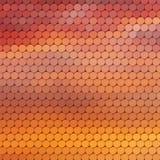 Fundo temático do pôr do sol com grade circular Imagem de Stock Royalty Free