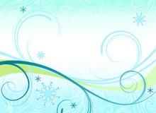 Fundo temático ou bandeira do inverno Foto de Stock