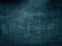 Fundo & textura azuis do algodão Imagens de Stock