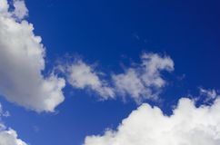 Fundo, textura, céu nebuloso foto de stock