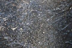 Fundo, a textura da neve que cai dos ramos fotografia de stock royalty free