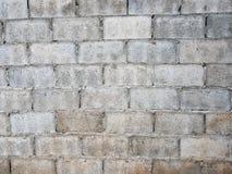 Fundo & textura da parede do bloco de cimento Foto de Stock