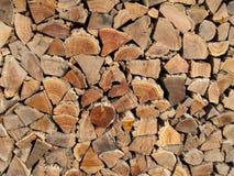 Fundo, textura de logs empilhados fotografia de stock