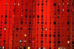 Fundo-textura vermelha Foto de Stock