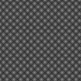 Fundo textured abstrato entrelaçado metálico preto do teste padrão Imagens de Stock