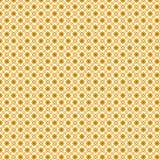 Fundo textured abstrato quadrado dourado do teste padrão Fotos de Stock Royalty Free
