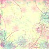 Fundo textured afligido Pastel Fotos de Stock Royalty Free