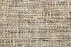 Fundo textured bege da tela abstrata do feno Imagem de Stock
