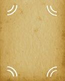 Fundo Textured da página do vintage do Grunge álbum vazio vazio, textura manchada envelhecida velha, Sepia bege do portfólio vert Foto de Stock Royalty Free