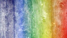Fundo textured do brilho de madeira do arco-íris wallpaper ilustração do vetor