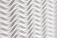 Fundo textured do Livro Branco - listras da onda horizontais com unsharpness e espaço para o texto imagens de stock royalty free