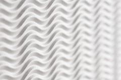 Fundo textured do Livro Branco - listras da onda horizontais com unsharpness e espaço para o texto fotografia de stock royalty free