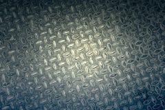 Fundo textured metálico Fotografia de Stock