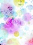 Fundo Textured multicolorido abstrato Fotografia de Stock Royalty Free